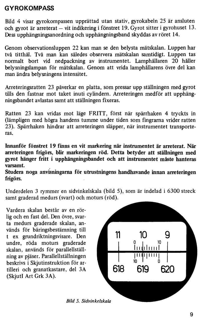 Messtechnik Funktechnik Roehren | Gyrokompass 722B Artilleriekompass ...