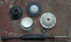 Antennenfuß für Stäbe mit Bajonettkupplung