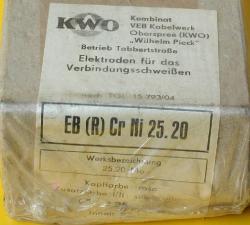 Schweißelektroden EB(R) CrNi 25.20 für Edelstahl