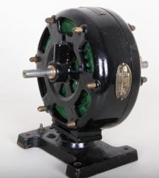 antiker Wechselstrommotor von 1907 , SANTO MOTOR