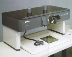 PLANICOMP P33, Luftbildauswerter, Carl-Zeiss-Jena, Luftbilddigitalisierung