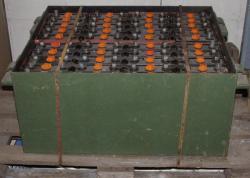 Staplerbatterie Bleiakku 2x40V 165Ah für Stapler neuwertig