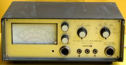 TR 1408-A Voltmeter, Spannungsmessgerät