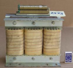 Transformator 380V -Drehstrom - 3x380V - 3x51V - 24kg