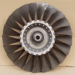 Großes Turbinenblatt Flugzeugturbine MiG-21