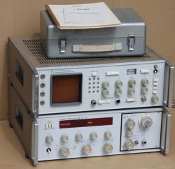 Wobbler X1-43 Generator und Sichtgerät