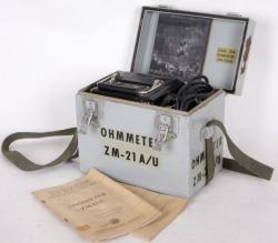 ZM-21AU  Ohmmeter, Isolationsmesser